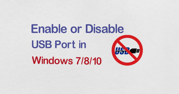 how to fix your usb ports windows 10