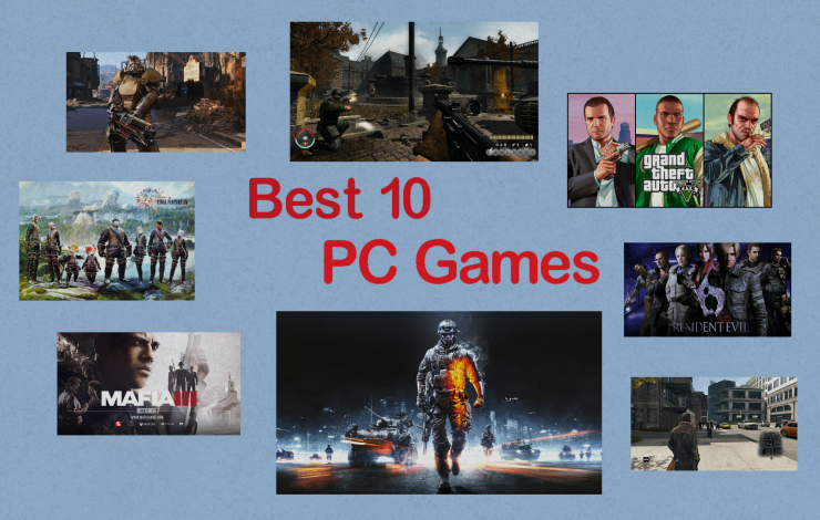 Best 10 PC Games you should play [with gameplay]