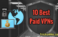 Best 10 Paid VPNs for PC to browse 100% securely
