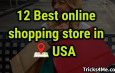 12 Most popular online shopping stores in USA